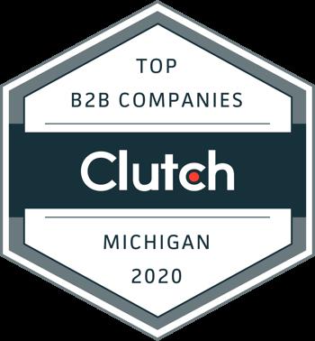 Clutch MI 2020 Award